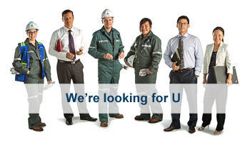 We're looking for U